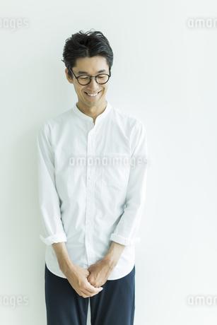 日本人男性のポートレートの写真素材 [FYI01733401]