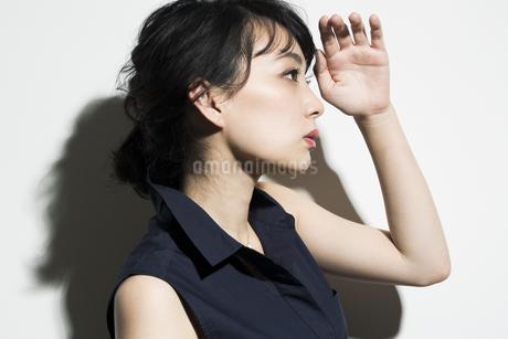 若い女性のビューティーイメージの写真素材 [FYI01733780]