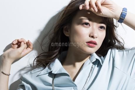 若い女性のビューティーイメージの写真素材 [FYI01733850]