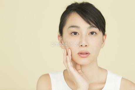 若い女性のビューティーイメージの写真素材 [FYI01734117]