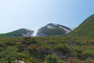 川湯硫黄山の写真素材 [FYI01734306]