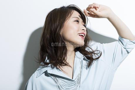 若い女性のビューティーイメージの写真素材 [FYI01735278]