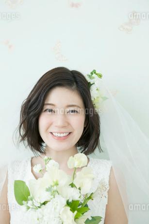 20代花嫁の写真素材 [FYI01735601]