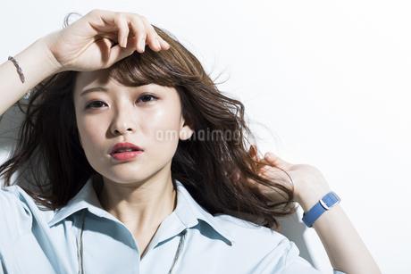 若い女性のビューティーイメージの写真素材 [FYI01736656]