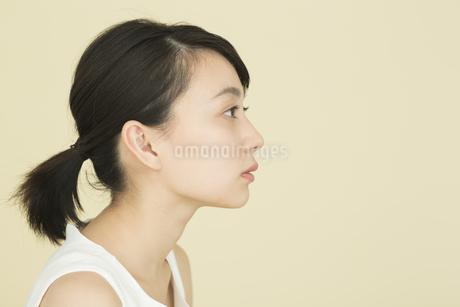 若い女性のビューティーイメージの写真素材 [FYI01736734]