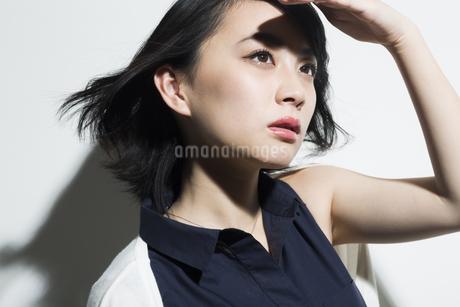 若い女性のビューティーイメージの写真素材 [FYI01736815]