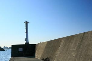 夏の小袖漁港 あまちゃんロケ地の写真素材 [FYI01739396]