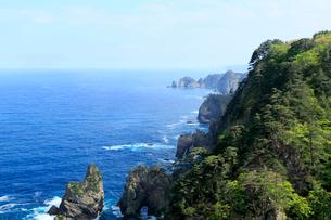 岩手県  震災後の北山崎の写真素材 [FYI01739803]