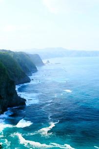 岩手県 震災後の鵜の巣断崖の写真素材 [FYI01739824]