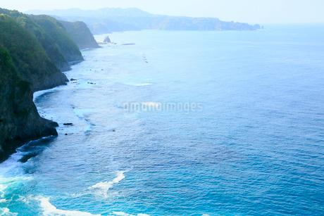 岩手県 震災後の鵜の巣断崖の写真素材 [FYI01739837]