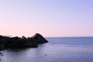 夏の小袖漁港 あまちゃんロケ地の写真素材 [FYI01740553]