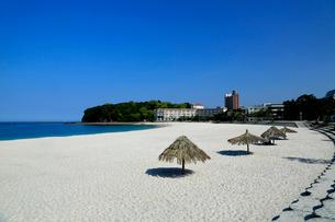 和歌山県 白良浜の写真素材 [FYI01740693]