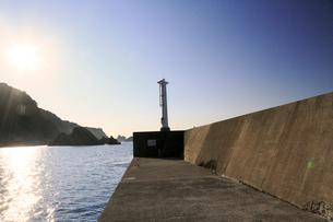 夏の小袖漁港 あまちゃんロケ地の写真素材 [FYI01740788]