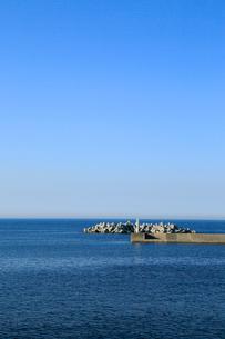 夏の小袖漁港 あまちゃんロケ地の写真素材 [FYI01741021]