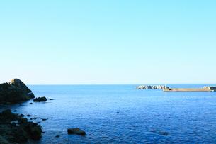 夏の小袖漁港 あまちゃんロケ地の写真素材 [FYI01741106]