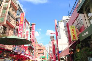 神戸南京町 チャイナタウンの写真素材 [FYI01741302]