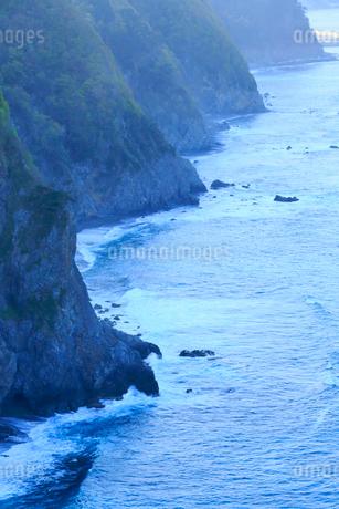 岩手県 震災後の鵜の巣断崖の写真素材 [FYI01741383]