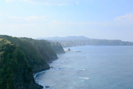 岩手県 震災後の鵜の巣断崖の写真素材 [FYI01741569]