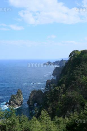 岩手県  震災後の北山崎の写真素材 [FYI01741671]