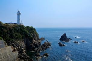 志摩 夏の大王崎灯台の写真素材 [FYI01741678]
