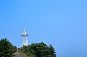 夏の安乗埼灯台の写真素材 [FYI01741702]