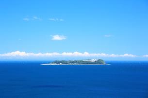 静岡県熱海,夏の初島の写真素材 [FYI01742100]