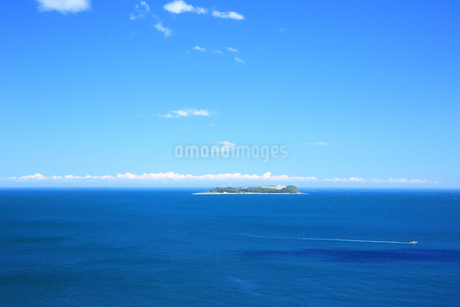 静岡県熱海,夏の初島の写真素材 [FYI01742208]