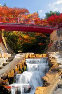 有馬温泉の紅葉の写真素材 [FYI01742276]