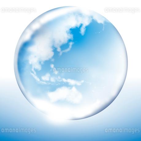 ガラスの地球のイラスト素材 [FYI01742659]