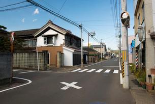 村田町村田伝統的建造物群保存地区の写真素材 [FYI01742799]