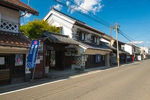 村田町村田伝統的建造物群保存地区の写真素材 [FYI01742806]