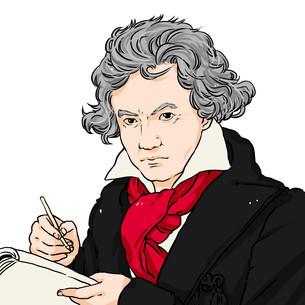 ベートーベンのイラスト素材 [FYI01743166]