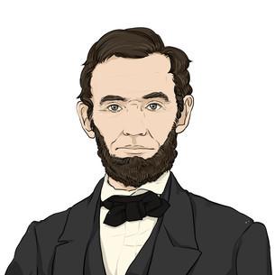 リンカーンのイラスト素材 [FYI01743207]