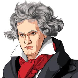 ベートーベンのイラスト素材 [FYI01743369]