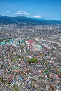 小田原市酒匂、小八幡、鴨宮駅周辺の航空写真の写真素材 [FYI01743441]