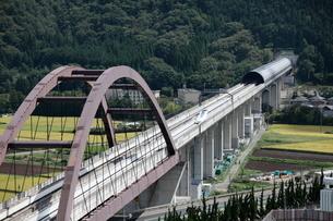 リニア新幹線の写真素材 [FYI01743543]