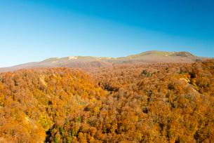 秋の栗駒山、湯浜峠から撮影の写真素材 [FYI01743706]