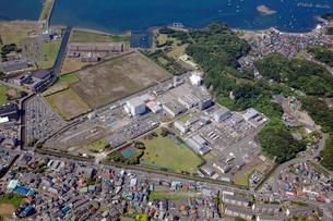 電力中央研究所横須賀研究所の航空写真の写真素材 [FYI01744015]