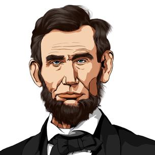 リンカーンのイラスト素材 [FYI01744082]