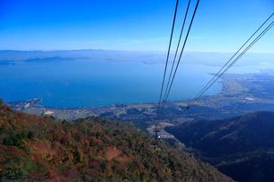 滋賀 びわ湖バレイ紅葉の写真素材 [FYI01744653]