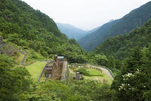 マイントピア別子旧別子銅山の写真素材 [FYI01745896]