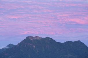 石鎚山の朝の写真素材 [FYI01745959]
