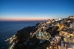 ギリシア サントリーニ島の写真素材 [FYI01746343]