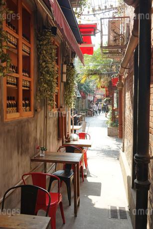 上海、田子坊の写真素材 [FYI01746391]