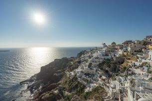 ギリシア サントリーニ島の写真素材 [FYI01746406]