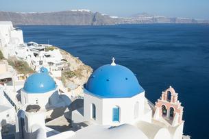 ギリシア サントリーニ島の写真素材 [FYI01746412]
