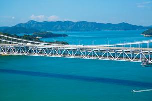 鷲羽山より瀬戸大橋の写真素材 [FYI01746549]