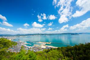 鷲羽山より瀬戸内海の写真素材 [FYI01746569]
