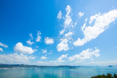 鷲羽山より瀬戸内海の写真素材 [FYI01746607]