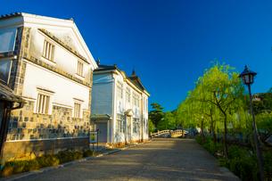 倉敷美観地区の町並みの写真素材 [FYI01746626]